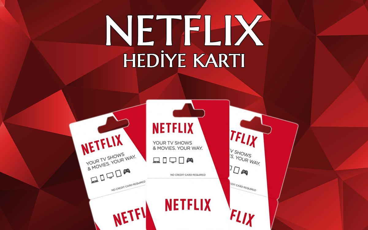 Netflix Hediye Kartı Nedir?