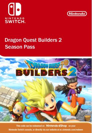 Dragon Quest Builders 2 Season Pass Nintendo Switch
