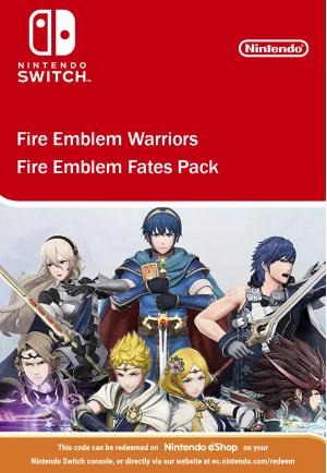 Fire Emblem Warriors Fire Emblem Fates Pack DLC Nintendo Switch
