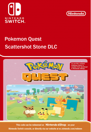 Pokemon Quest Scattershot Stone DLC Ninento Switch