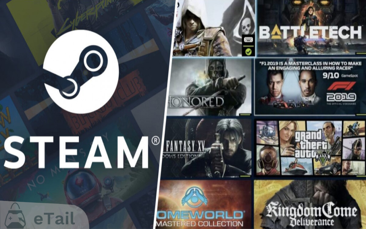 En yeni PC Oyunlarını Steam Yaz İndirimlerinde Steam Cüzdan Kodu ile Satın Al