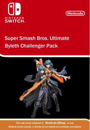 Super Smash Bros Ultimate - Byleth Challenger Pack Nintendo Switch