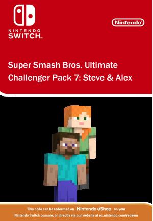Super Smash Bros Ultimate - Challenger Pack 7: Steve & Alex
