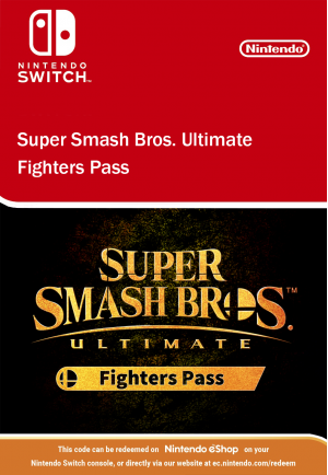 Super Smash Bros Ultimate - Fighters Pass Nintendo Switch