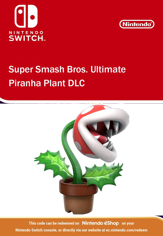 Super Smash Bros Ultimate - Piranha Plant DLC Nintendo Switch
