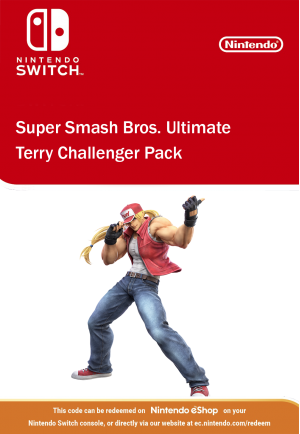 Super Smash Bros Ultimate - Terry Challenger Pack Nintendo Switch