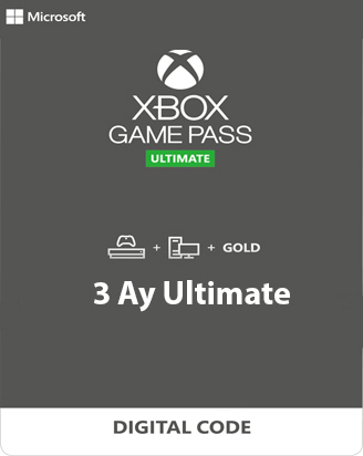 Xbox Game Pass Ultimate 3 Ay TR